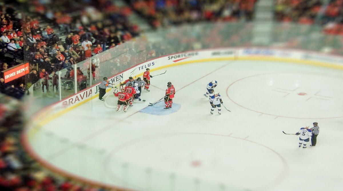 E' proprio come giocare a Hockey